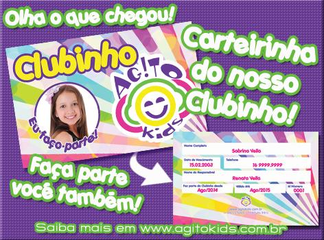 Lançamento – Clubinho Agito Kids!