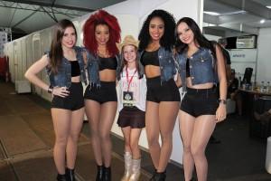 Dançarinas da Anitta